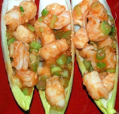 Shrimp Bloody Mary Style