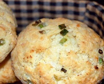 Savory Scones with Goat Cheese and Scallions