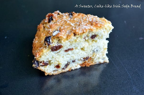 The BEST Irish Soda Bread, period! It's sweeter and more cake-like! Make this once and you will be hooked!