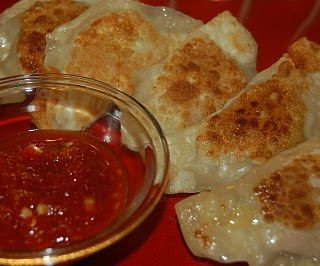 Chicken and Pork Potstickers