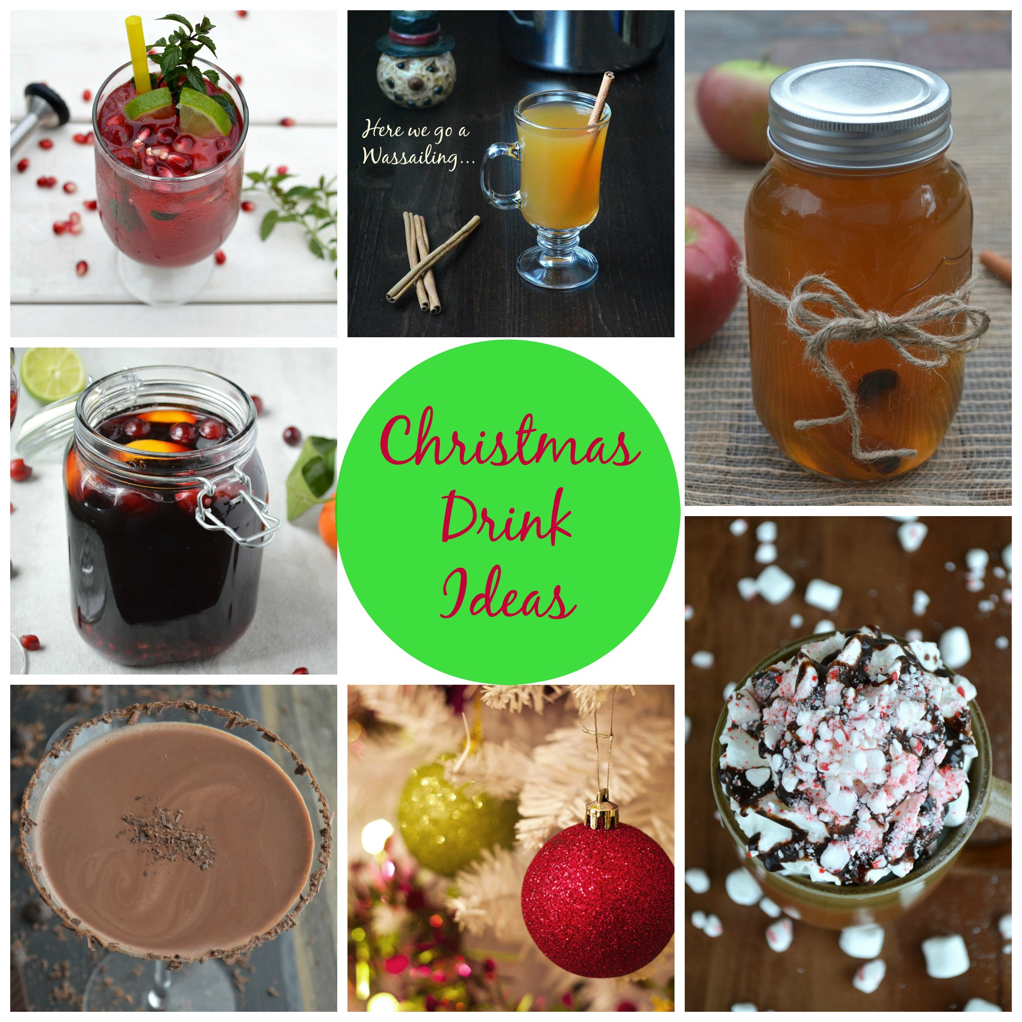 Christmas Drink Recipe Ideas