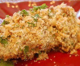 Roasted Walnut Encrusted Cod