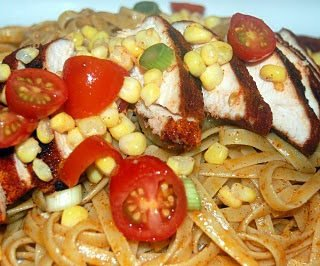 Rainforest Cafe Inspired Chicken and Pasta