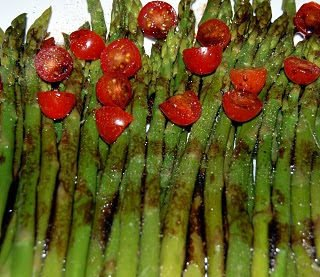 Chilled Asparagus Plate