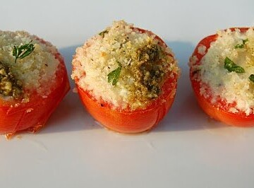 Goat Cheese Tomatoes