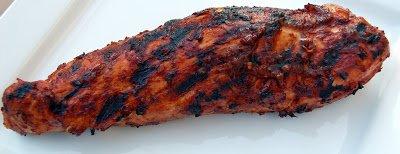 Spicy Grilled Pork Tenderloin