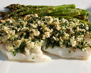 Parsley Crusted Cod