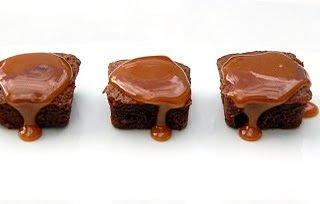 Salted Caramel Brownie Bites