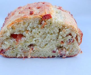 Prosciutto and Cheddar Quick Bread