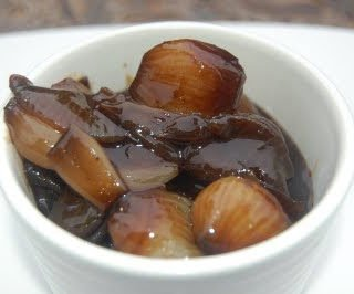 Sweet and Tangy Balsamic Baby Onions