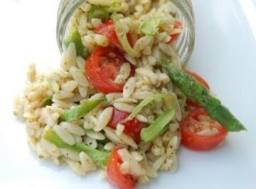 Summertime Orzo Salad