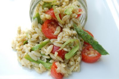Summertime Orzo Salad