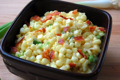 Creamy Corn with Bacon