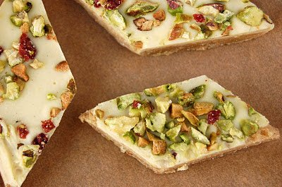 Pistachio Cranberry Bars