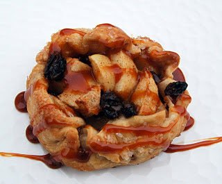 Mini Free Form Caramel Apple Tarts