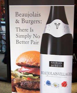 Duboeuf Beaujolais & Burgers