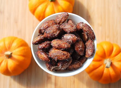 Pumpkin Pie Spiced Almonds