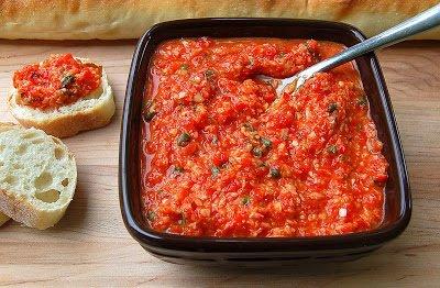 Roasted Red Pepper & Artichoke Spread