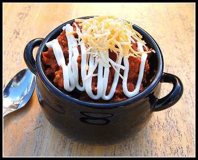Spicy Beef & Sausage Chili