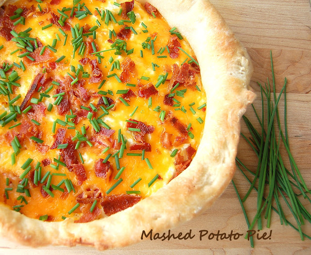 Mashed Potato Pie - Best use of leftover potatoes ever!