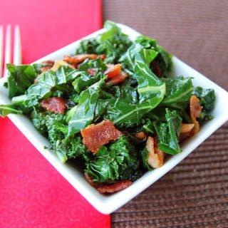 Sauteed Kale & Bacon