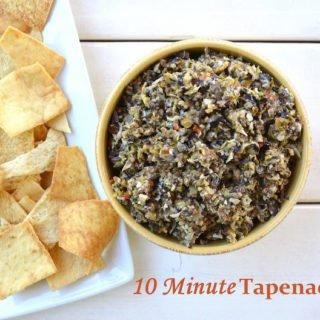 10 Minute Tapenade