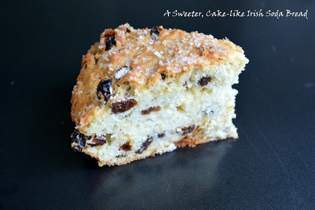 Sweet Cake-Like Irish Soda Bread