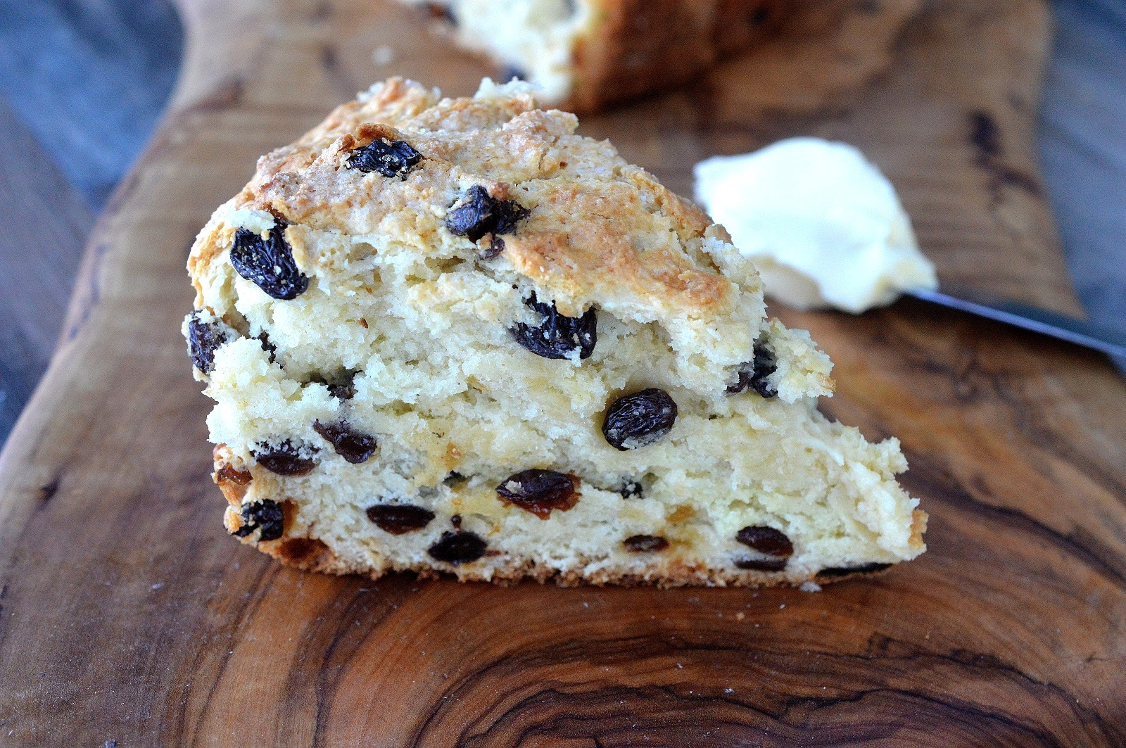The BEST Irish Soda Bread! It takes less than 10 minutes to prep and 60 to bake. The result is a moist, sweet, cake-like Soda Bread of your dreams