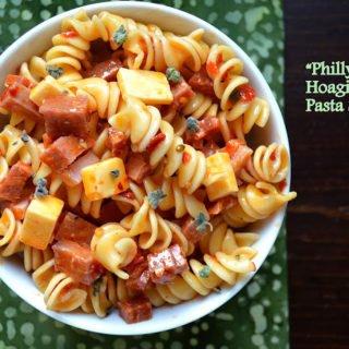 Philadelphia Hoagie Pasta Salad