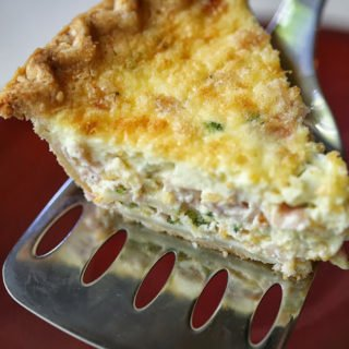 Ham Cheese and Broccoli Pie