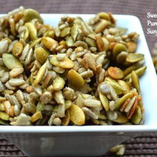 Honey Roasted Pepitas and Sunflower Seeds