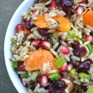 Wild Rice Fruit Salad