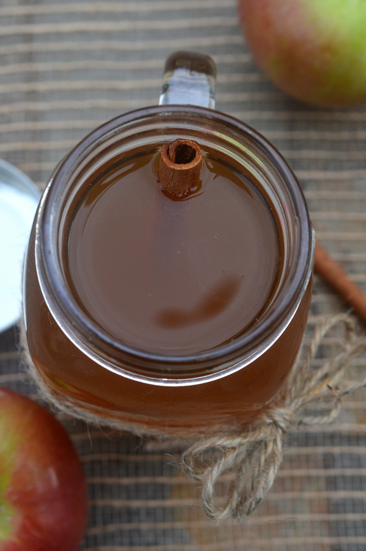 Apple Pie Moonshine in a jar