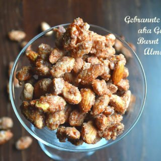 Gebrannte Mandeln aka German Burnt Sugar Almonds