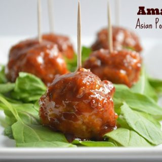 Amazing Asian Pork Meatballs
