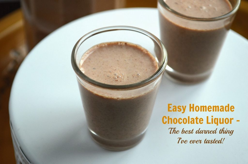 DIY Chocolate Liqueur Recipe — Dishmaps