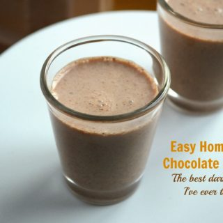Creamy Homemade Chocolate Liquor