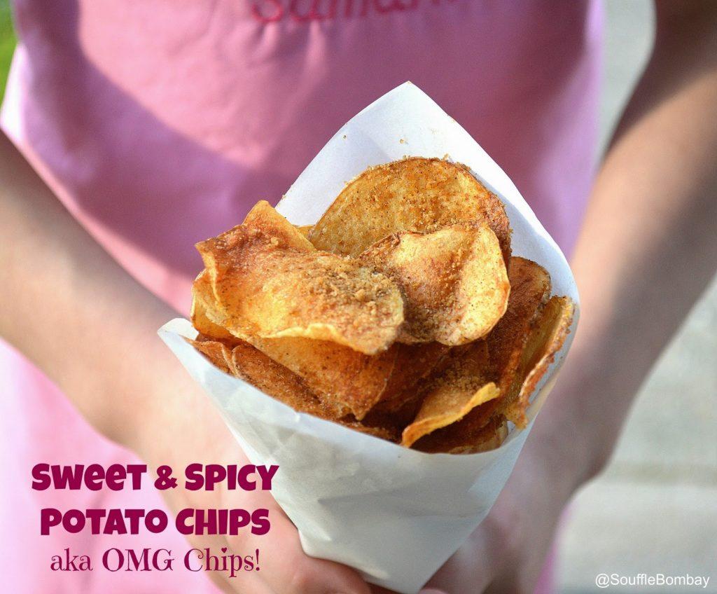 Homemade Sour Cream & Onion Potato Chips - Souffle Bombay