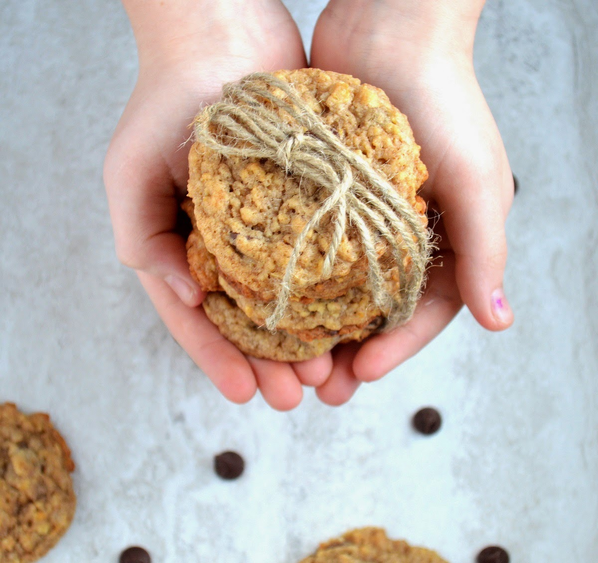 Best Banana Bread Cookie Recipe. A different & delicious way to use up your old bananas!