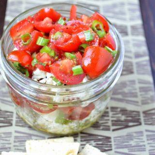 Greek Tomato & Feta Dip / Salad