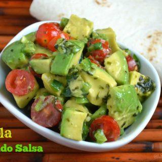 Tequila Avocado Salsa