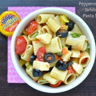 Pepperoncini & Jarlsberg Cheese Pasta Salad