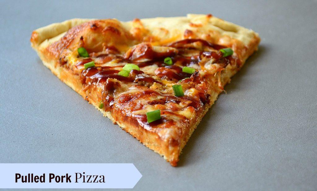 THE BBQ PORKABELLA PIZZA
