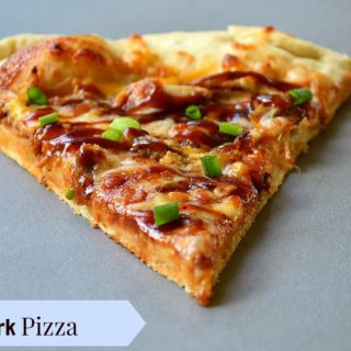 THE BBQ PORKABELLA PIZZA