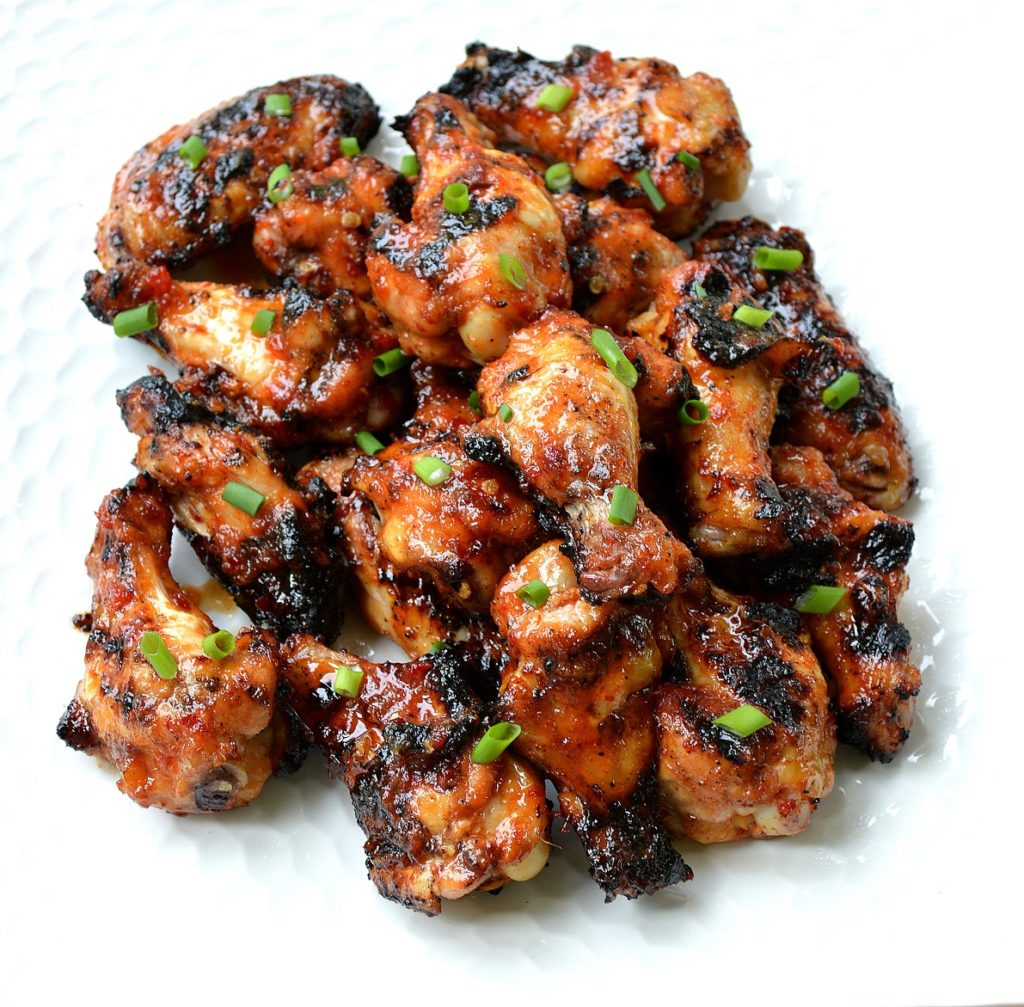 Grilled Asian Chicken Wings Perfect for Tailgating!