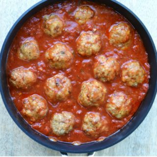 Chicken & Bacon Meatballs