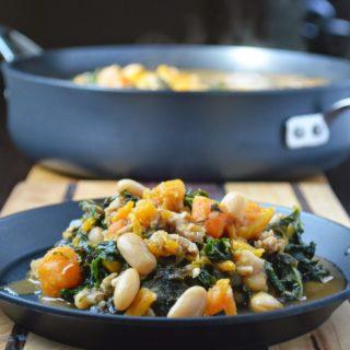 Sweet Potato Stew aka Samantha's African Stew #CulinaryDaring