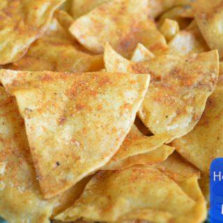 Homemade Doritos