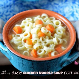 Easy Chicken Noodle Soup For Kids