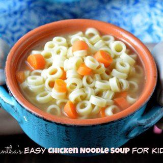 kid friendly chicken noodle soup